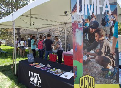 UMFA introduced Craft Lake goers to temporary art.