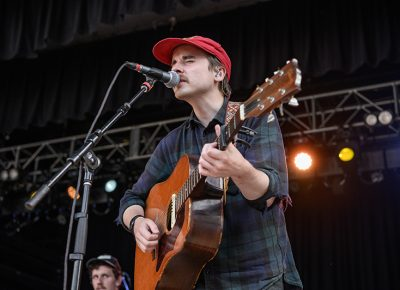 Foxwarren was a perfect opener for Blind Pilot at Thursday's Twilight concert.
