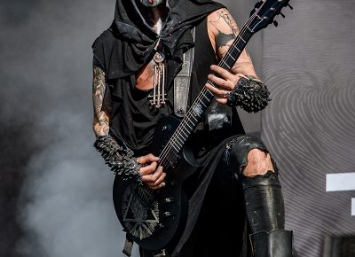 """""""Pluck my eyes out, rip my tongue / Make me slave to gravity."""" (""""Furor Divinus"""" from the Behemoth album The Satanist)"""