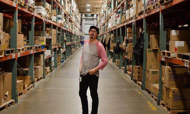 Creative Director Richard Cardenas tracks food trends at Nicholas and Company.
