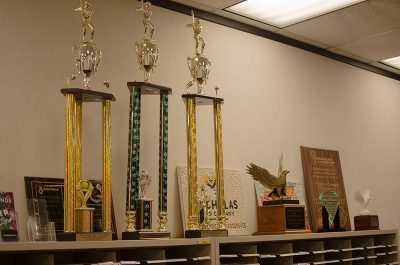Oh, these? Nothing much; just a few of Nicholas and Company's many awards...