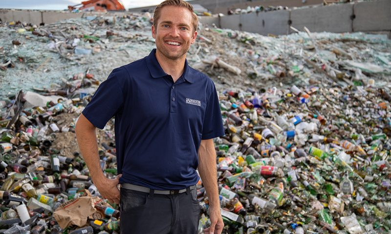 Momentum Recycling General Manager Jason Utgaard