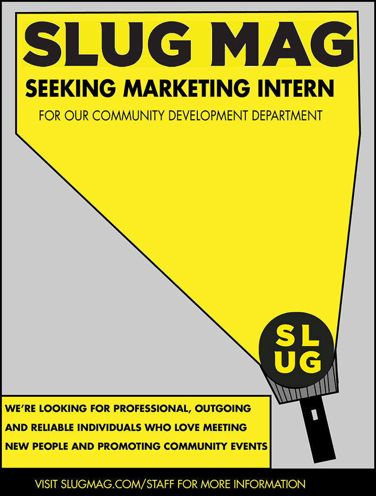 Now Hiring: Marketing Intern