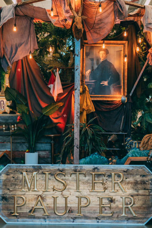 The Mister Pauper pop-up display was an absolute treat to view.
