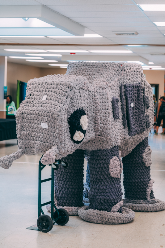 All your bases are belong to us now that we have crocheted AT-AT.
