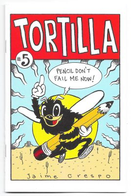 The Cover for Tortilla #5