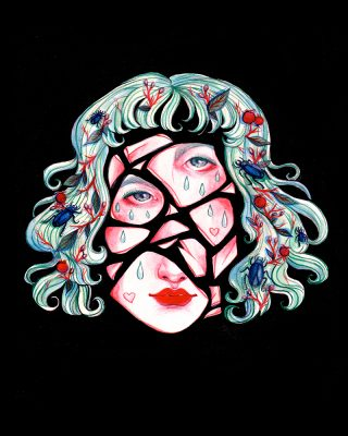Broken Doll Face by Ashley Love