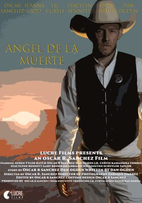 Angel De La Muerte promotional poster