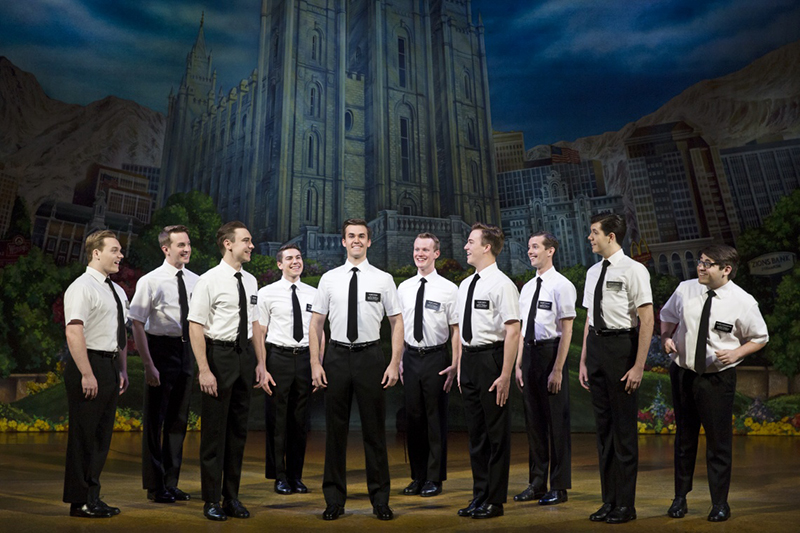 The Book of Mormon @ The Eccles Theater 08.24