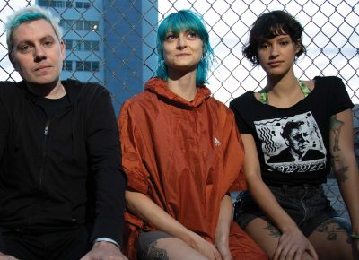 (L–R) David Payne, Halle Jean and Nora Price of Jazz Jags.