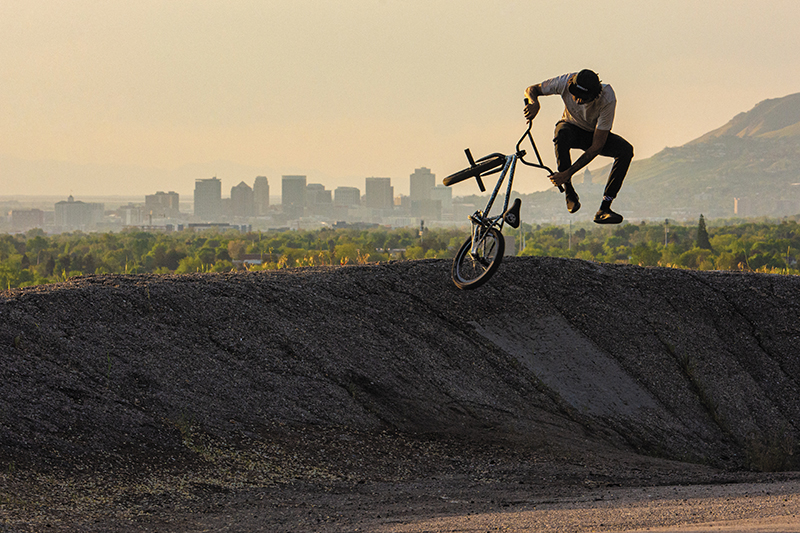 BMX Photo Feature: Adrian Evans