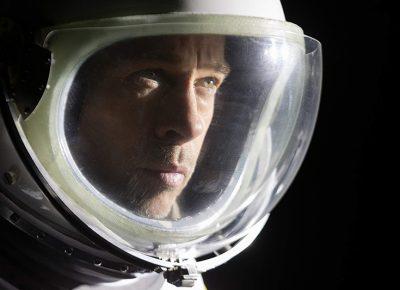 Brad Pitt in Ad Astra.