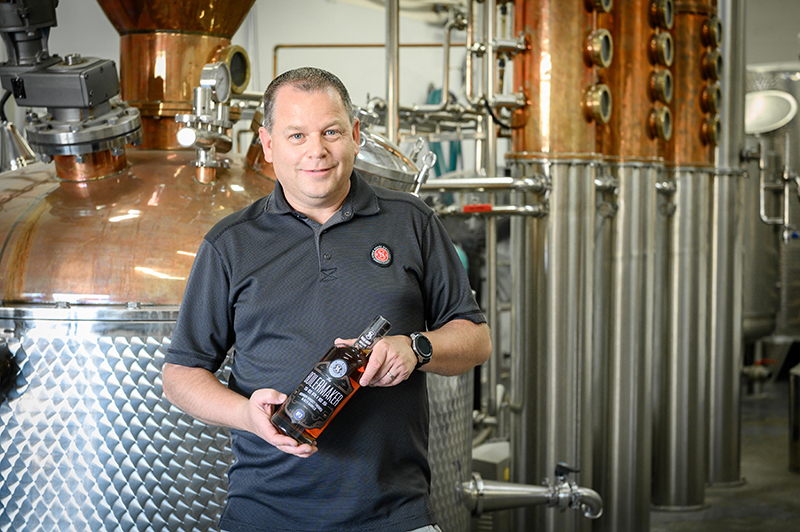 Sugar House Distillery Head Distiller James Fowler has a knack for collaborating with other businesses, especially other brewers through The Boilermaker Series.