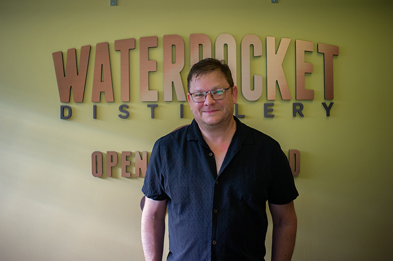 Alan Scott of Waterpocket Distillery.