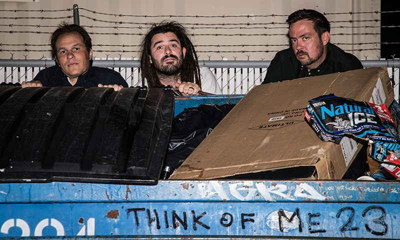 (L–R) Ben Dodds, Whil McCutchan and Josh West stay Together Forever to play and create music that they would want to listen to.