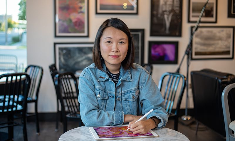 Ann Chen is a proud self-taught hand-letterer and typographer. She has recently started freelancing full time.