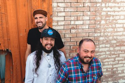 The Alexander Ortega trio are gearing up for the release of their debut album.