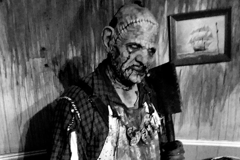 Bertram the Butcher, one of the many horrors of The Castle of Chaos