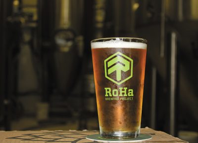 RoHa Brewing Project's Freshies pours a crystal-clear gold.