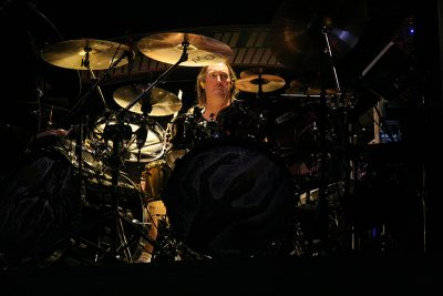 Danny Carey drumming in Tool was an early inspration for Trentelman's then-fledgling skills.