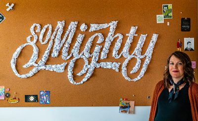 Becca Clason's portfolio includes stop-motion and tactile lettering for Nordstrom and Facebook.
