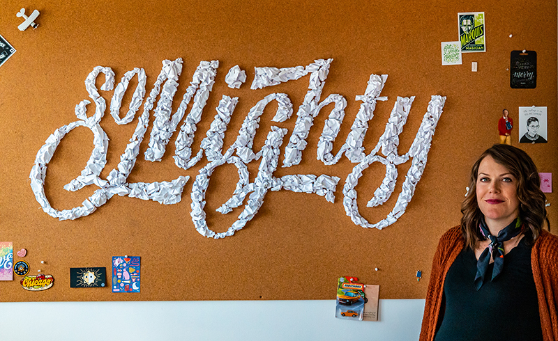 Learning the Power of Letters: How Becca Clason Turns Words into Art