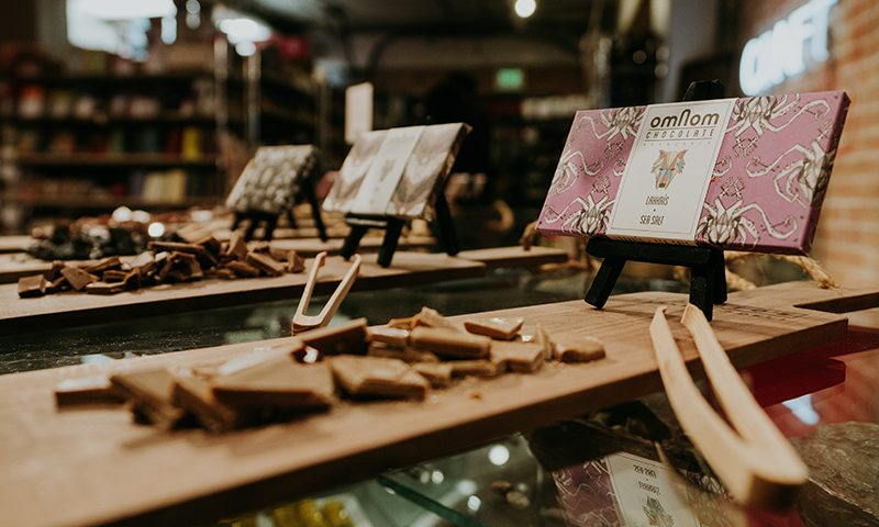 Caputo's 8th Annual Chocolate Festival brought Omnom Chocolate to Utah for the Icelandic Feast in the City of Salt.