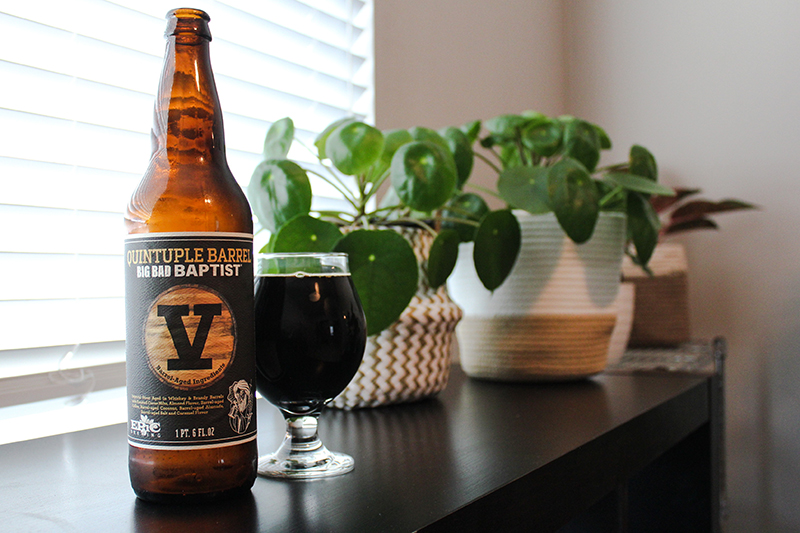 Beer of the Month: Quintuple Big Bad Baptist
