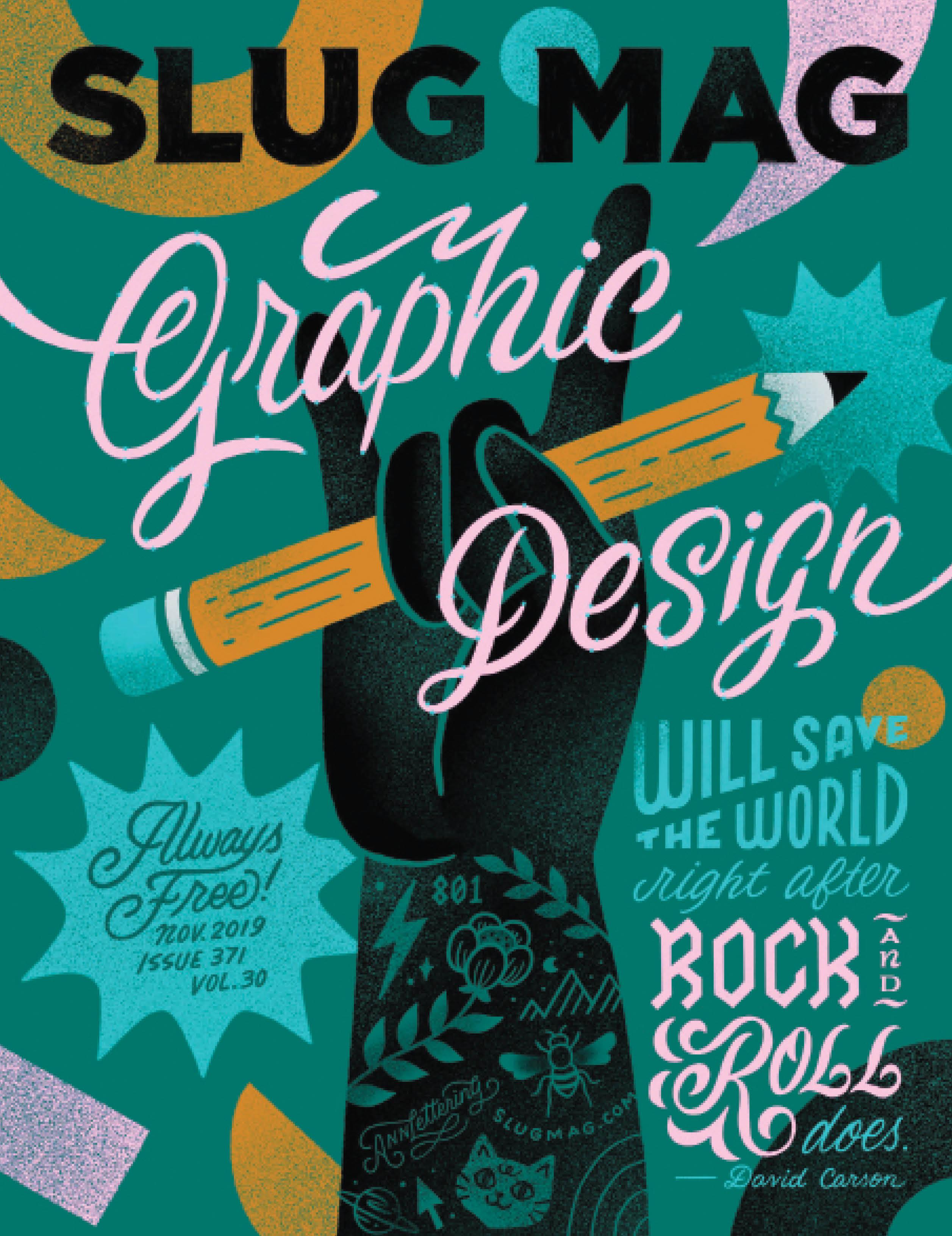 Issue 371 – November 2019 cover art