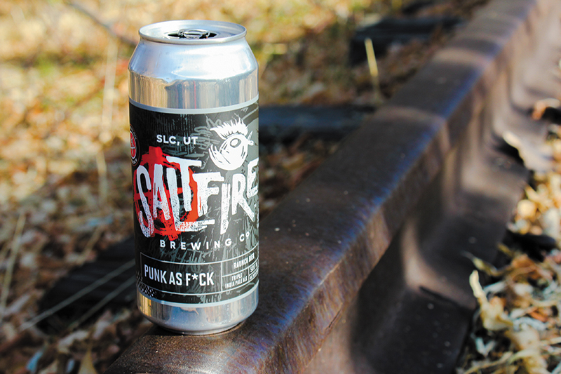 December's Beer of the Month is SaltFire Brewing Co.'s Punk as F*ck IPA.
