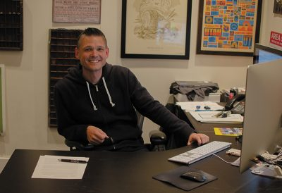 Fluid Executive Creative Director Ryan Anderson.
