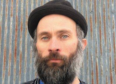 """Self proclaimed, """"Midwestern-poet-gone-rogue"""" Abraham Smith helps curate Witch Lit each month."""