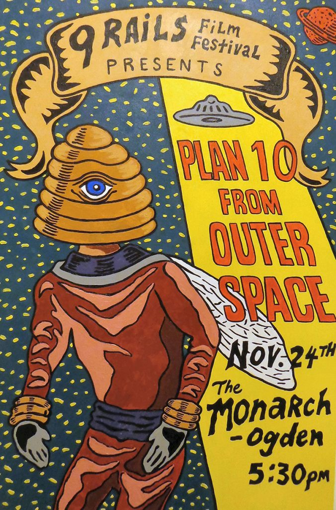 Watching Films You Like with Your Friends: The 9 Rails Film Festival Screens Trent Harris' Plan 10 from Outer Space