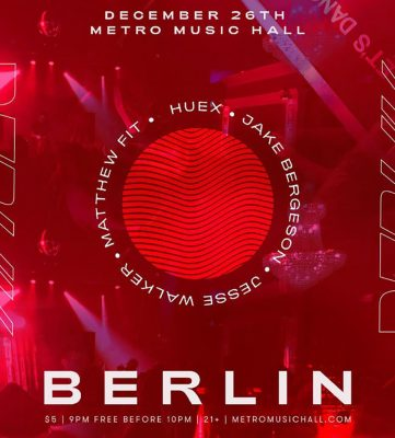 BERLIN @ Metro Music Hall