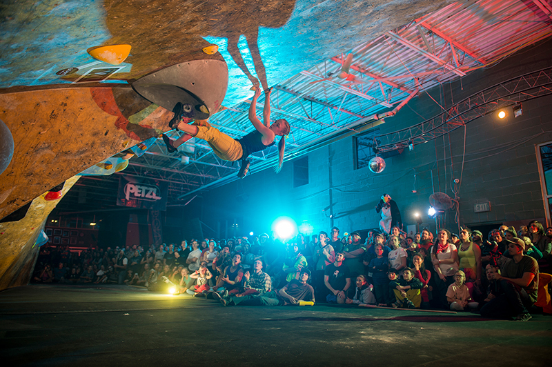 The Deadpoint Climbing Competition was part climbing competition and part raucous costumed pizza party.