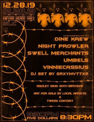 Night Prowler @ Metro Music Hall