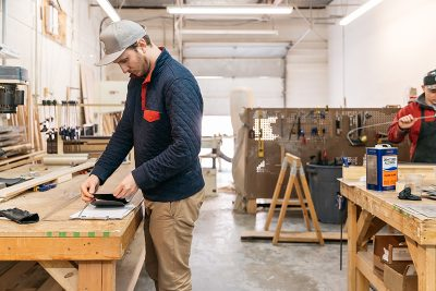 """Hinterland skis are meticulously crafted with plenty of """"proper TLC."""""""