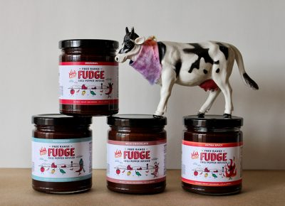 Free Range Fudge comes in four enticing chili-infused variants.