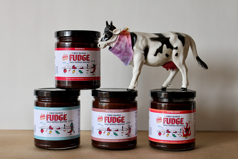 Free Range Fudge: Hot Fudge with a Chili Pepper Kick
