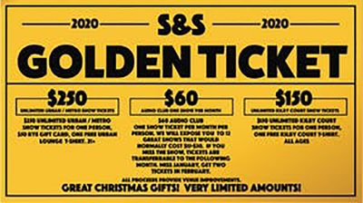Golden Ticket @ Urban Lounge