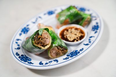 The Crispy Duck Rolls are a must-try for Ginger Street patrons.