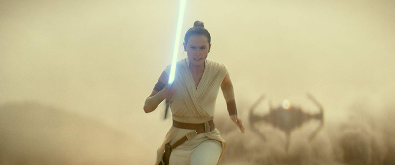 Daisy Ridely returns as Rey for The Rise of Skywalker, the final chapter in the Star Wars sequel trilogy.