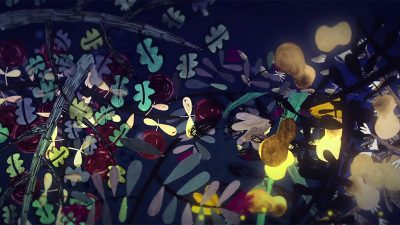 A still from one of Gabriela Badillo's animated productions for MAST.