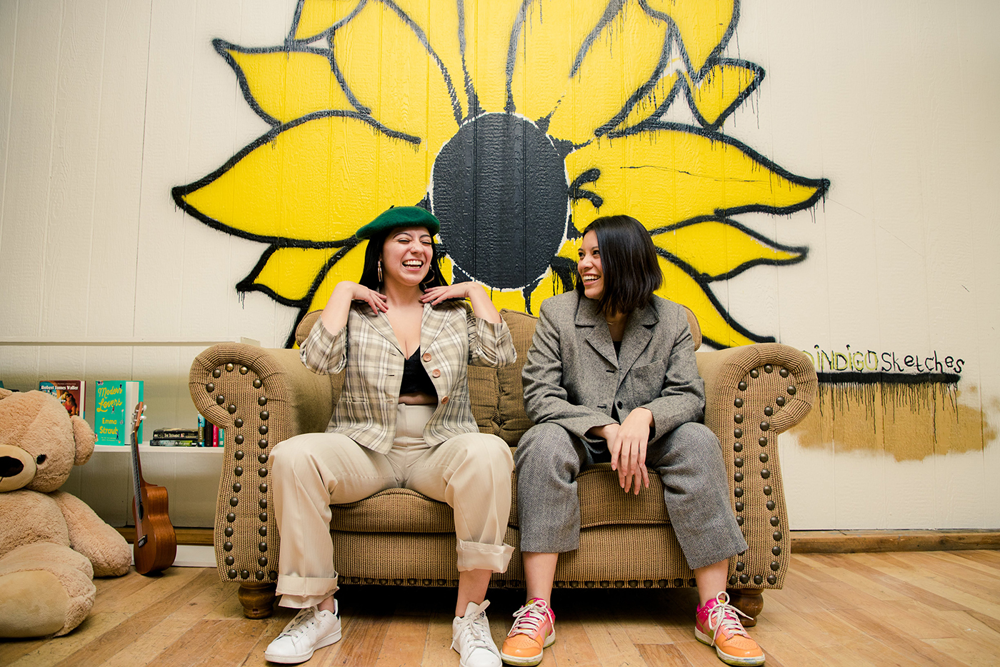(L-R) Sisters Patricia and Graciela Campos spearhead the Existimos Collective with the mission to provide a safe space and resources to the QTBIPOC community.