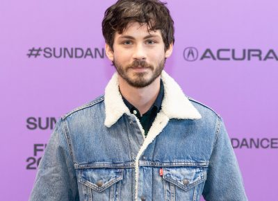 Logan Lerman on the red carpet for the film Shirley at the Sundance Film Festival 2020. Photo: Logan Sorenson (LmSorenson.net)