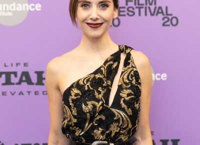 Alison Brie, for Horse Girl, for the Premiere at the Sundance Film Festival 2020. Photo: Logan Sorenson (LmSorenson.net)