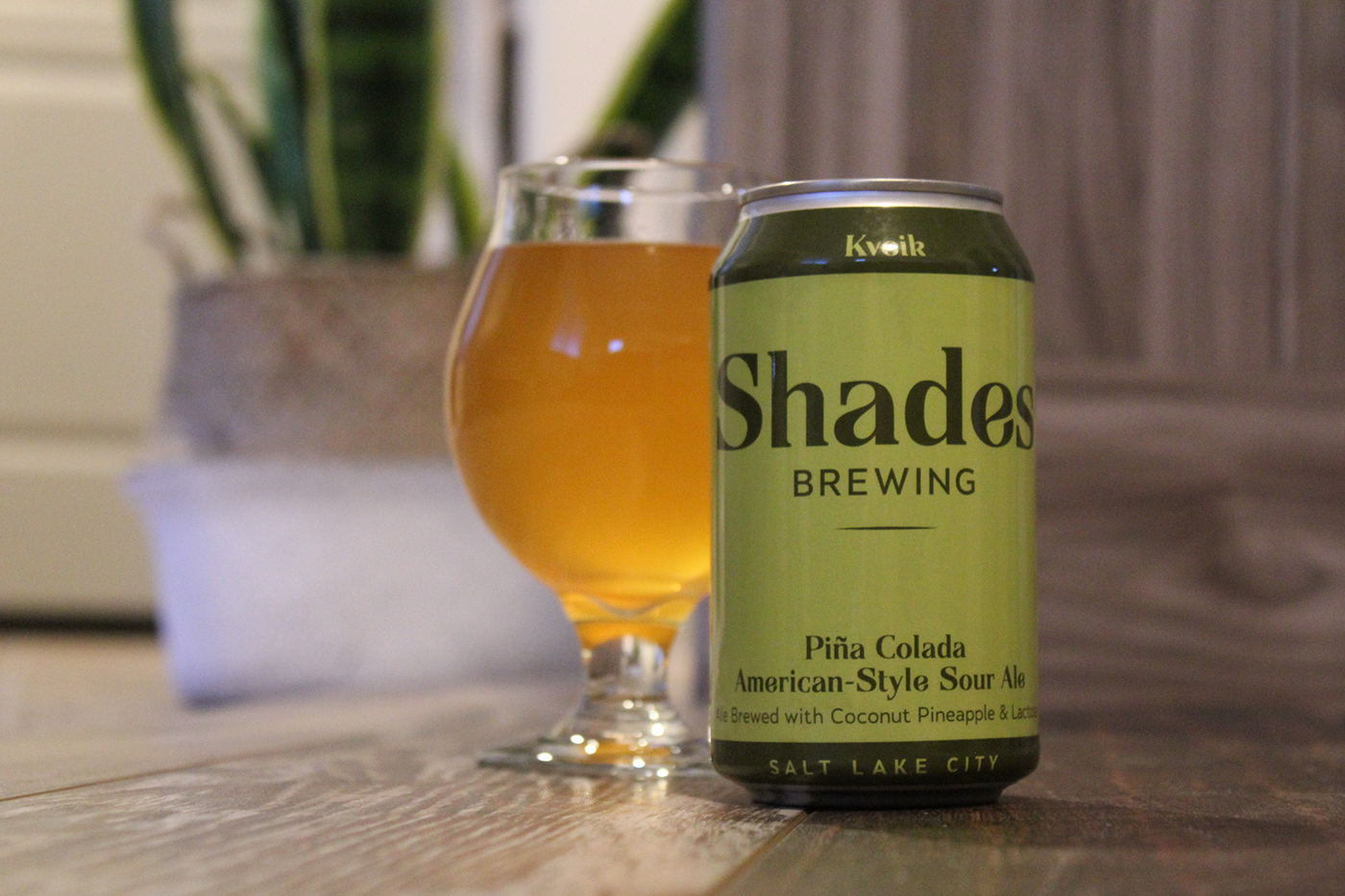Shades Brewing's new Piña Colada pale ale hits all the right notes.