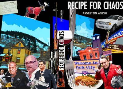 Recipe for Chaos is Zack Matheson's fourth novel that features detective Lincoln Coulter as he investigates the murder of a celebrity chef.