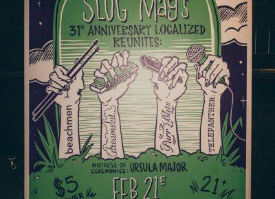 SLUG Magazine bringing back to life these amazing bands for one night only.