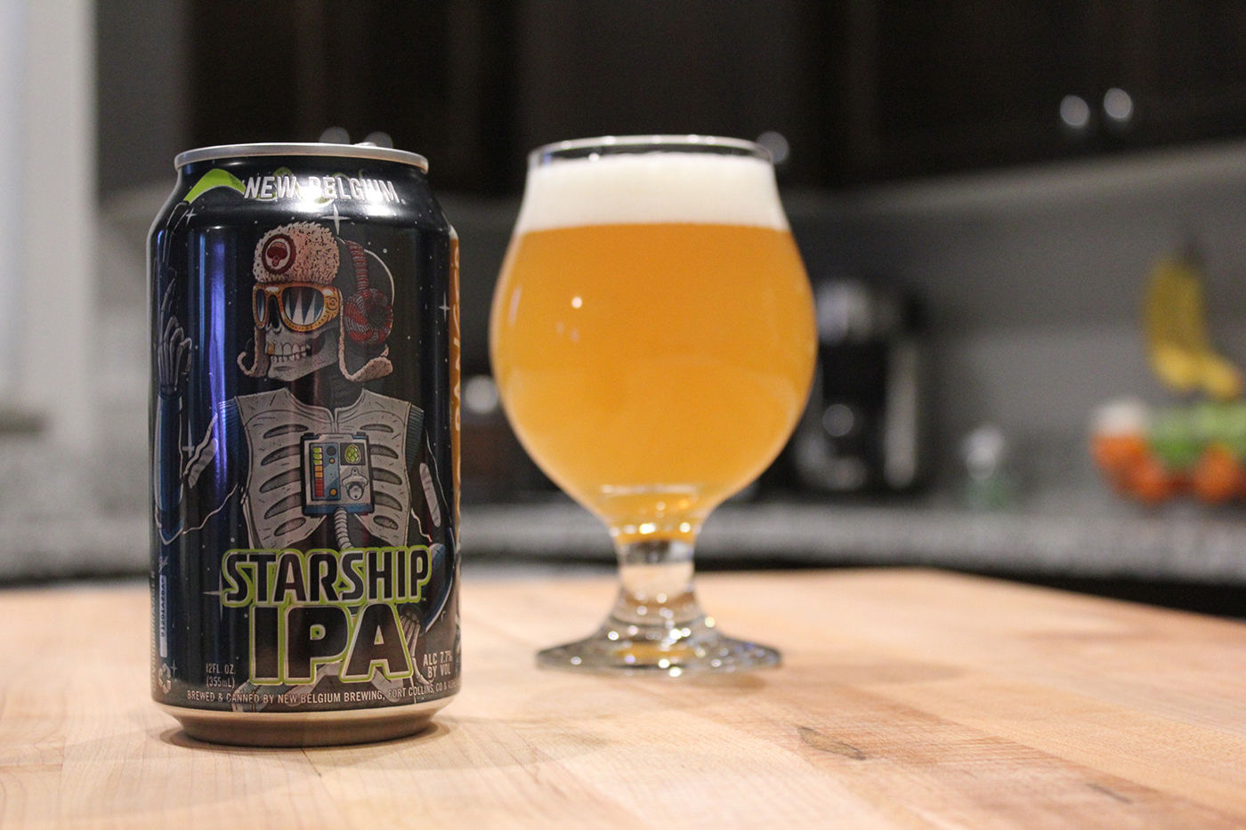 Starship IPA is New Belgium Brewing's newest member of the Voodoo Ranger family.